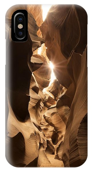 Passage At Antelope Canyon IPhone Case