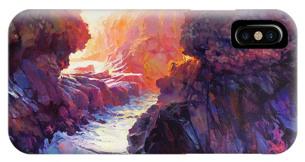 Pacific Ocean iPhone Case - Passage by Steve Henderson