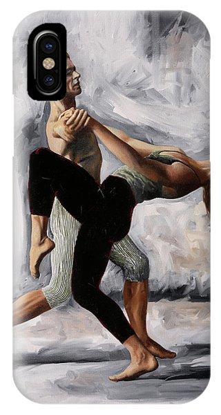 Dancing iPhone Case - Passi Di Danza by Guido Borelli
