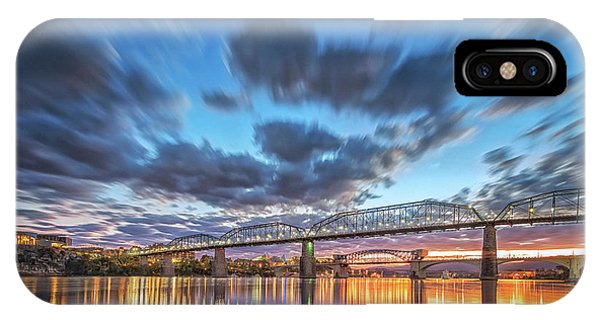 Passing Clouds Above Chattanooga IPhone Case