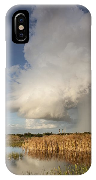 Passing Late Afternoon Rain Shower IPhone Case