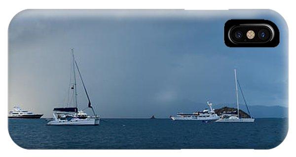 Catamaran iPhone Case - Passing Storm by Adam Romanowicz