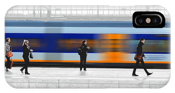 Passing Train IPhone Case