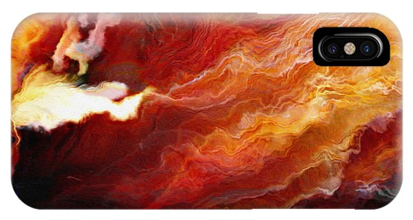 Passion - Abstract Art - Triptych 3 Of 3 IPhone Case