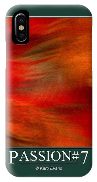Passion#7 IPhone Case