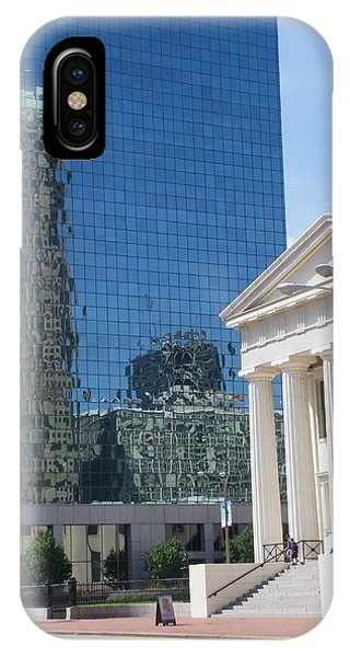 Past And Present Reflections IPhone Case