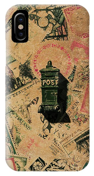 Old World iPhone Case - Past Letters In Post by Jorgo Photography - Wall Art Gallery