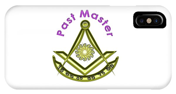 Past Master In White IPhone Case