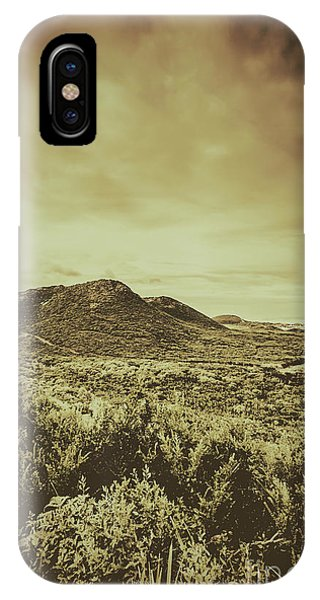 Old Rugged Cross iPhone Case - Past Mountain Peaks by Jorgo Photography - Wall Art Gallery
