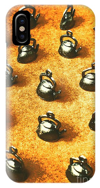 Kettles iPhone Case - Past Tea Time by Jorgo Photography - Wall Art Gallery