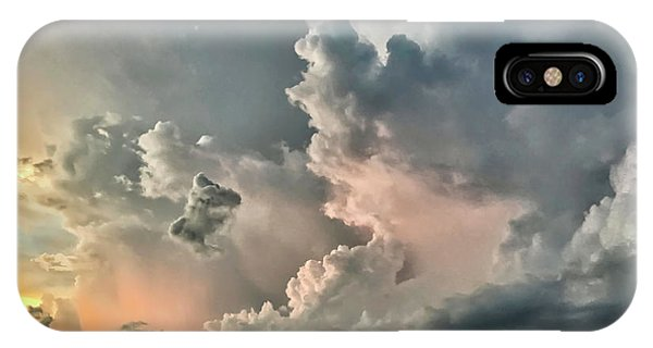 Pastel Clouds IPhone Case