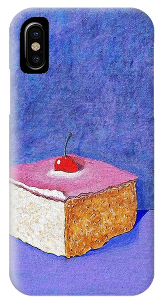 Pastel De Color Rosa Mexicano IPhone Case