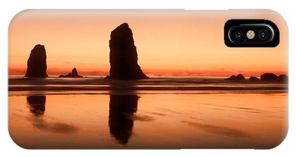 Pastel Evening On The Oregon Coast IPhone Case