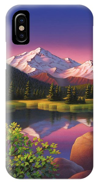 Pastel Mountain IPhone Case