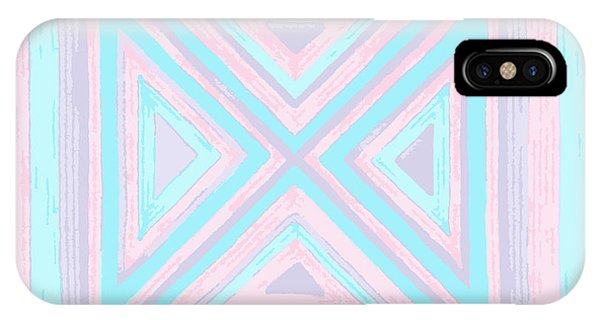 Pastel Patchwork IPhone Case
