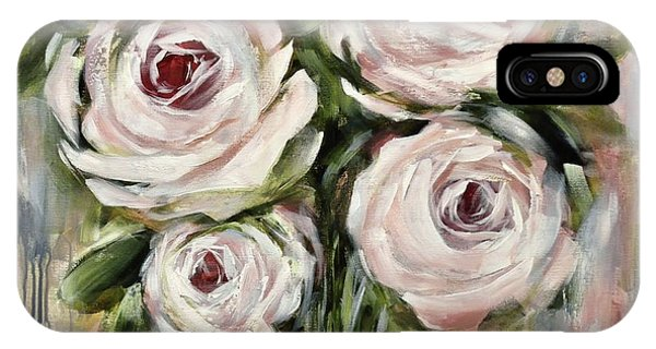 Pastel Pink Roses IPhone Case