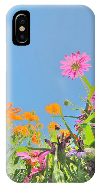 Pastel Poppies IPhone Case