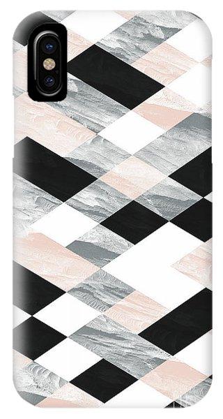 Pastel Scheme Geometry IPhone Case