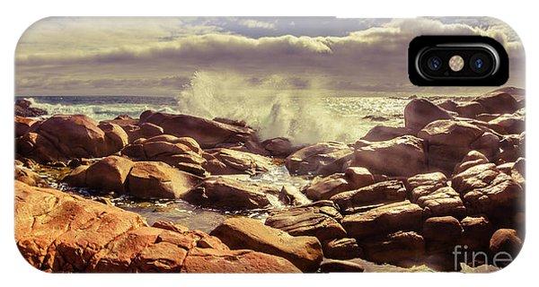 Crash iPhone X Case - Pastel Seas by Jorgo Photography - Wall Art Gallery