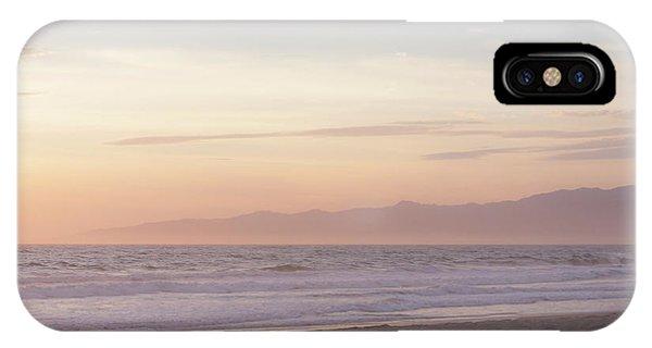 Venice Beach iPhone Case - Pastel Sunset by Ana V Ramirez