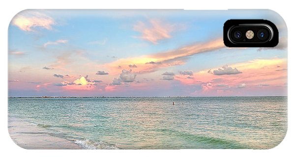 Pastel Sunset On Sanibel Island IPhone Case