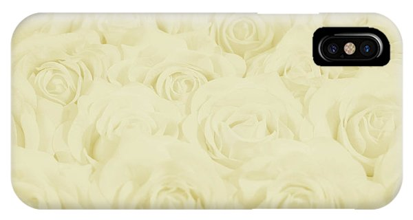 Pastel Yellow Roses IPhone Case