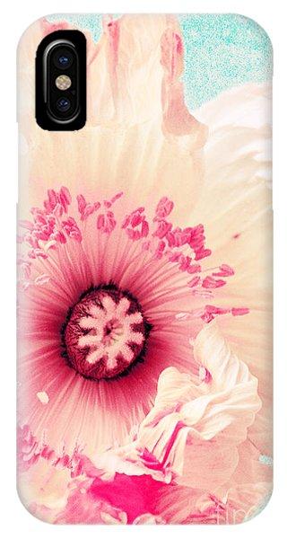 Pastell Poppy IPhone Case
