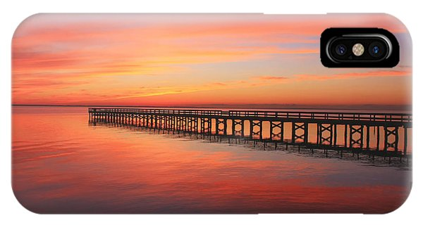 IPhone Case featuring the photograph Pastels At The Hilton Fishing Pier  by Ola Allen