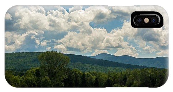 Pastoral Landscape With Mountains IPhone Case