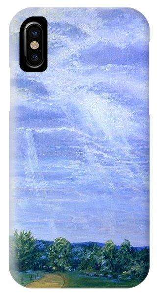 Pasture Lane IPhone Case