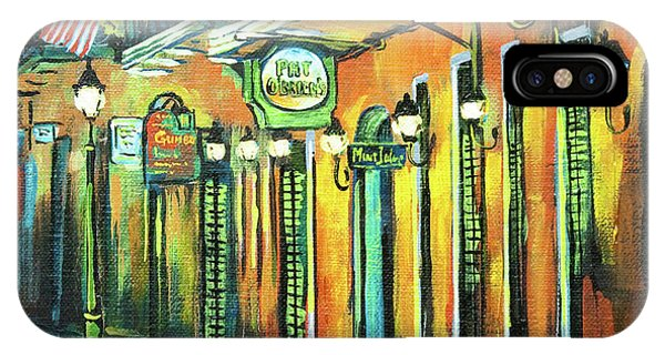 French Artist iPhone Case - Pat O Briens by Dianne Parks