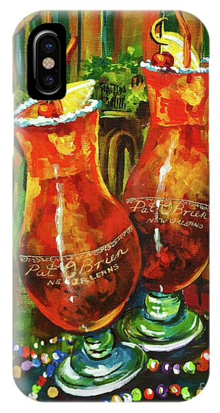 French Artist iPhone Case - Pat O' Brien's Hurricanes by Dianne Parks