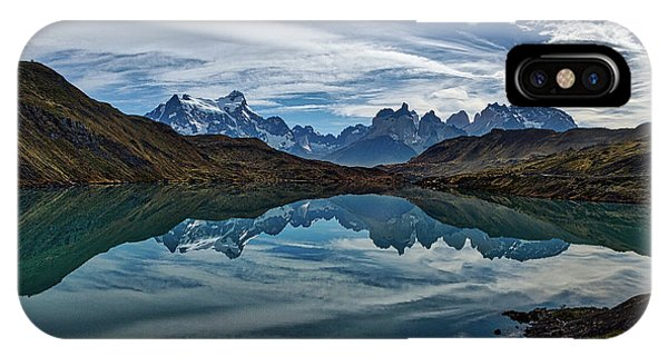 Patagonia Lake Reflection - Chile IPhone Case