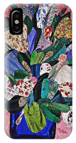 Patchwork Bouquet IPhone Case