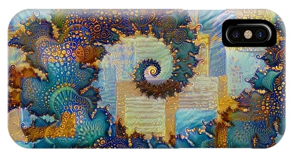 iPhone Case - Patchwork Spiral by Amanda Moore