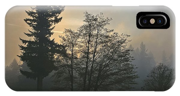 Patchy Morning Fog IPhone Case