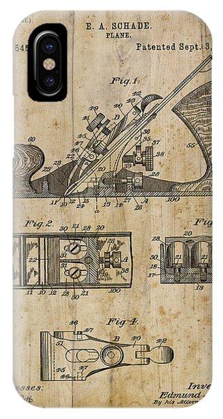 Patent Art Plane 1895 IPhone Case