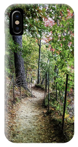 Path Along The Pond IPhone Case