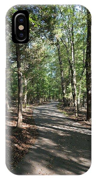 Path Around Lake IPhone Case