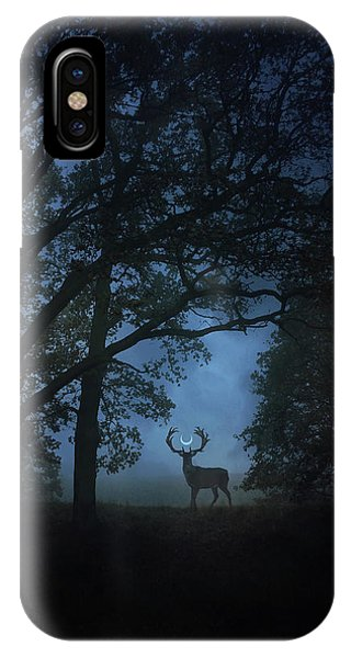 Magician iPhone Case - Path Of Shadows by Cambion Art