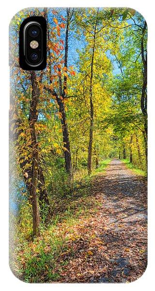 Path Through Fall IPhone Case