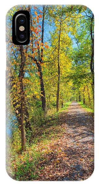 Path Through Fall IPhone Case