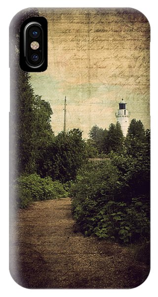 Path To Cana Island Lighthouse IPhone Case