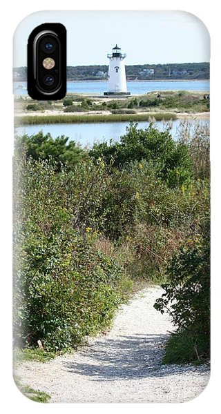 Path To Edgartown Lighthouse IPhone Case