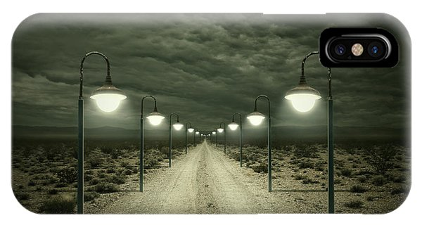 Light iPhone Case - Path by Zoltan Toth