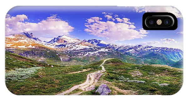 Pathway To A Valley IPhone Case