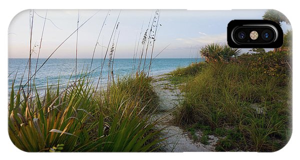 Pathway To Barefoot Beach  In Naples IPhone Case