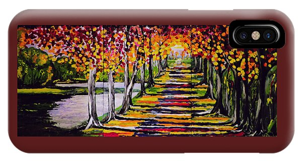 Pathyway To The Light - Landscape IPhone Case
