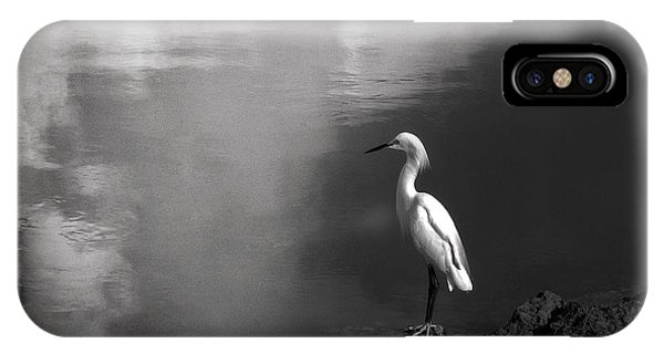 Patience In Black And White IPhone Case