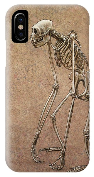 Bone iPhone Case - Patient by James W Johnson